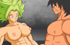 Kale get fuck by broly