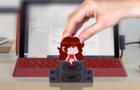 Friday Night Funkin Girlfriend - Friday Night Funkin Animation Desktop