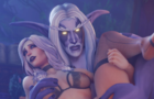 Salsen's Gothic Silver-haired beauty X Nelf
