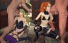 Mia & Rin Blowjob (Loop) (LQ)