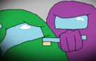 Among us in a nutshell (mspaint animation remake)