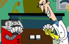 Clone High Scudworth and Mr. Butlertron Deleted Scene ANIMATED