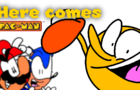 here comes pac man reanimated (LOUD)