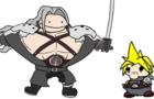 Cloud's buddy Sephiroth