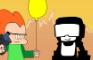 Tankmen balloon pico animation
