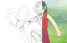 scissor, rock..... paper (animatiopn process)