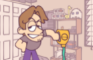 Jerma pours detergent on the floor - Jerma Animated