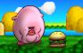 Kirby Eats a Burger