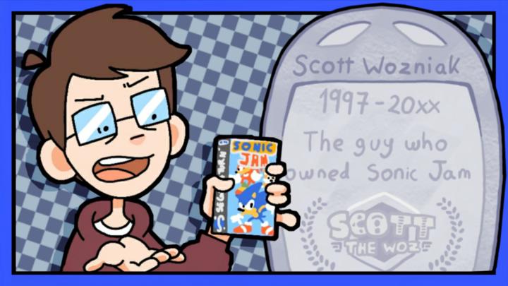 The Guy who owns Sonic Jam - Scott the Woz Animation