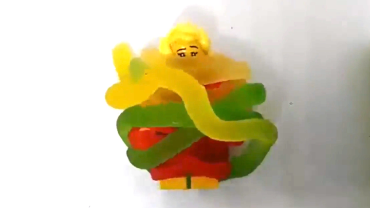 Lego tied up by candy(ep7)