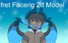 Efret Facerig 2D Model SHowcase