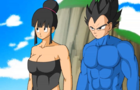 Broly and chi chi and vegeta romance