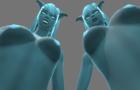 Double Bj futa animation