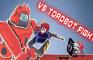 VS Tordbot Remastered Fight BF - FNF CARDBOARD Edition