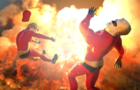 Mr. Incredible Gets Blasted by a JDAM