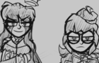 GET HELP but it's two nerds - animatic