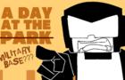 A day at the park meme | Tankmen and Pico | shitpost