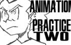 Pico X Evangelion for no reason- Animation practice (Nekko-Chan)