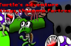 Turtle's Adventure: king thwomp's fortress