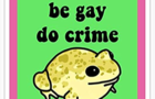 Make Love to Frogs JUMPER