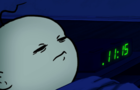 When you're sleeping but people keep coming in
