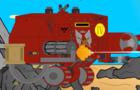 Dreadnought Warhammer 40K (Volume Warning)