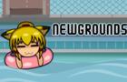 Sachiko at the Wave Pool [Newgrounds TV bumper]