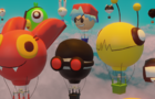 Air Balloon Parade [ Newgrounds Bumper ]