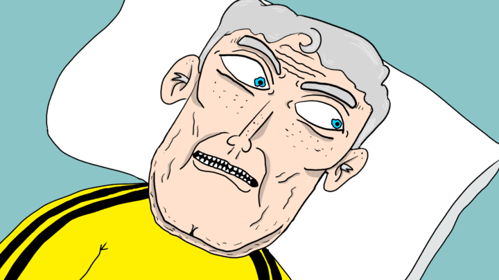 What if Christopher Reeves was in Kill Bill (a Cumtown cartoon)