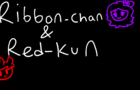 Ribbon-Chan and Red-Kun: Poggers