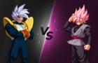 Baby Vegeta vs Goku Black