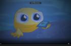 Emoji Face Cries Phone Dropy down Ground Animation