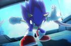 Sonic Crashing Ship. (Sonic Rebound)