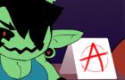 Woops, my anarchy symbol!