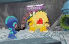 Mega Man Go To Bowser Castle