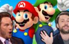 Chris Pratt and Charlie Day as Mario and Luigi