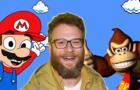 Seth Rogen as Donkey Kong be like (Mario Movie meme animation)