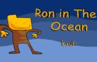 ron in the ocean