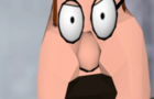 Peter Griffin hurts his knee 3D