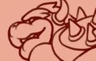 Bowser X Boo Gay Animation Loop