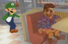 Luigi Meets The President