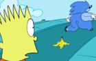 the simpsons vs sonic
