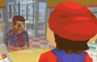 Mario Meets The President
