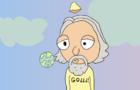 Goddd creates Earf (God creates Earth)